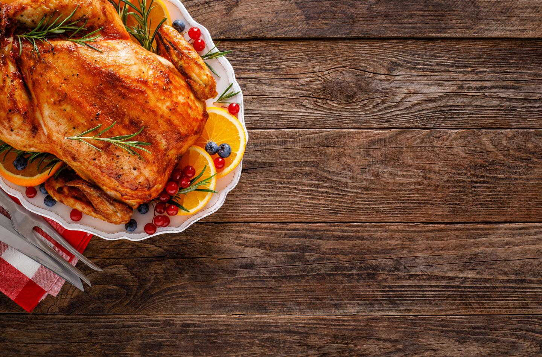 Recette pour cuisson des volailles à four chaud